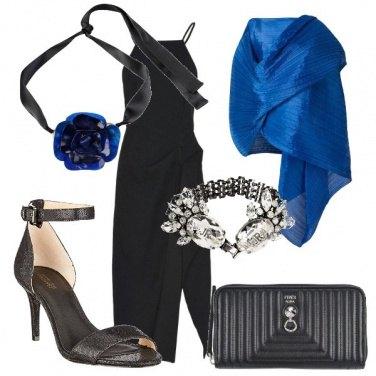 Outfit Un rosa blu