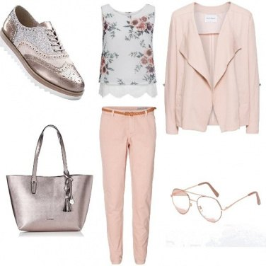 Outfit Pink flower