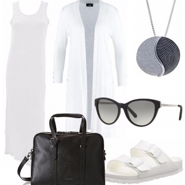 Outfit Chic summer white