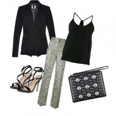 Outfit Glam con stile