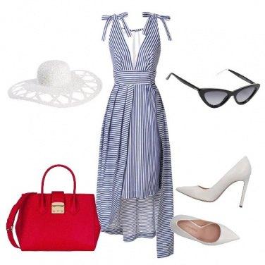 Outfit Diva degli anni '50