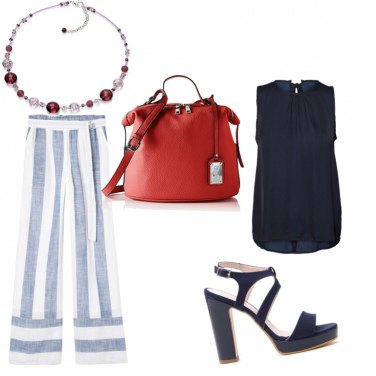 Outfit A spasso in blu