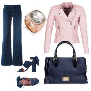 Outfit Chic in jeans