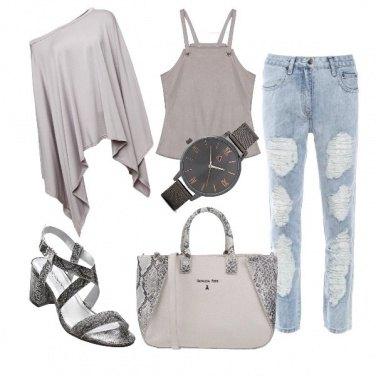 Outfit Pitone urbano