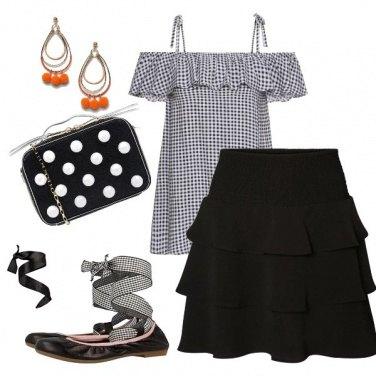 Outfit Le ballerine col fiocco