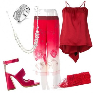 Outfit Rouge mon amour