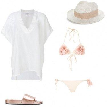 Outfit Con stile anche al mare