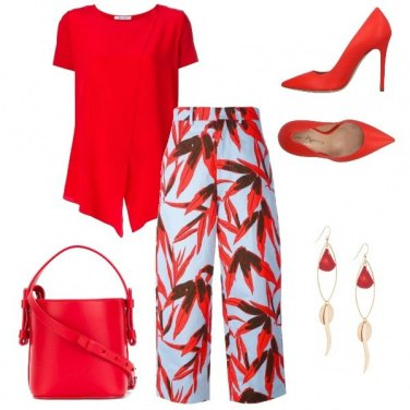 Outfit Red Vibes