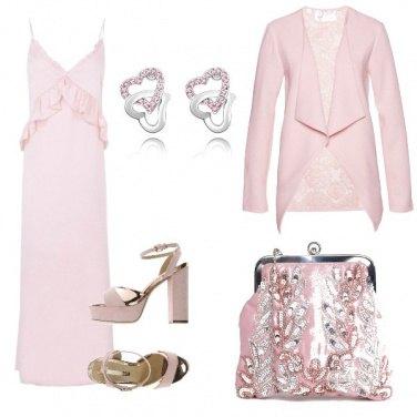 Outfit Il rosa che brilla