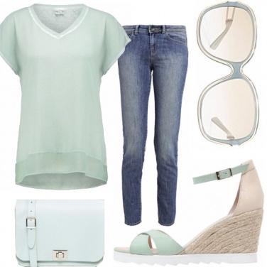 Outfit Fresca menta