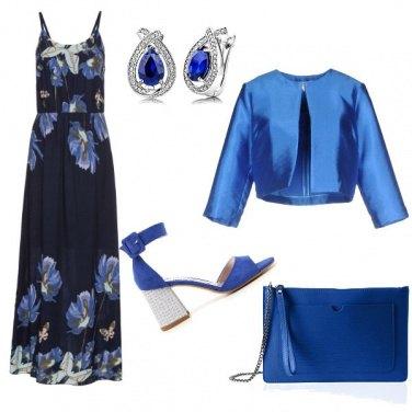 Outfit La regina del blu