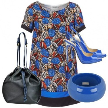 Outfit Blue Elements