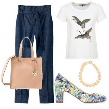 Outfit Jeans da ufficio