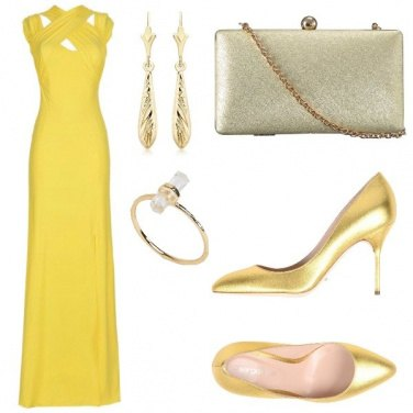 Outfit Cerimonia stile Amal
