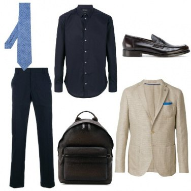 Outfit Lo zaino business