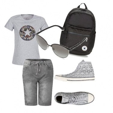 Outfit SportyGirl#Alesci20