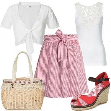 Outfit Partenza per il viaggio di nozze
