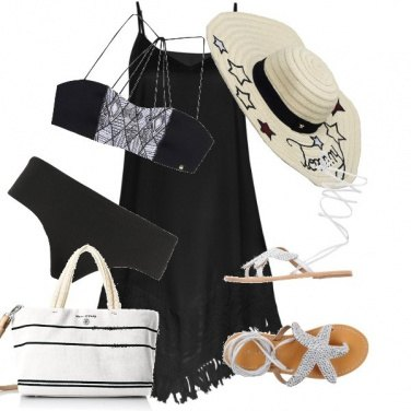 Outfit Chic in spiaggia