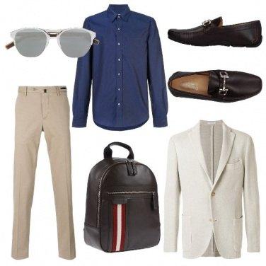 Outfit La giacca color avorio