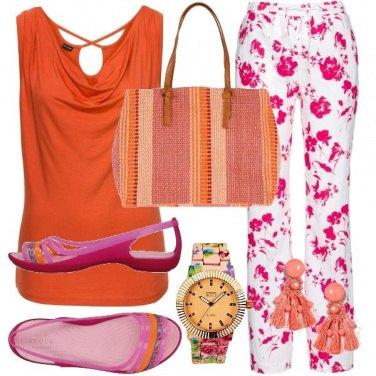 Outfit Estate arancio