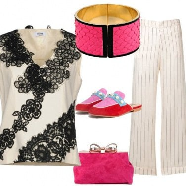 Outfit Dettagli pink