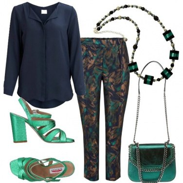 Outfit Fiori cangianti