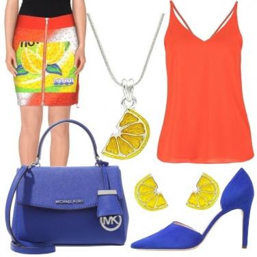 Outfit Freschezza al limone