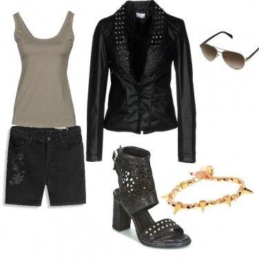 By 047cc1c003 Shorts Edc Nero W32 Esprit black Rinse Donna 4qwqB