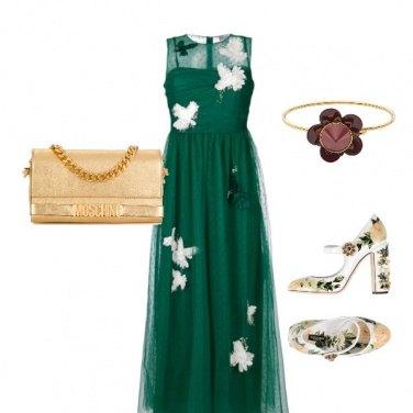 Outfit Floreale con eleganza
