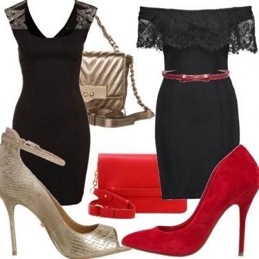 Outfit Little noir tubino!