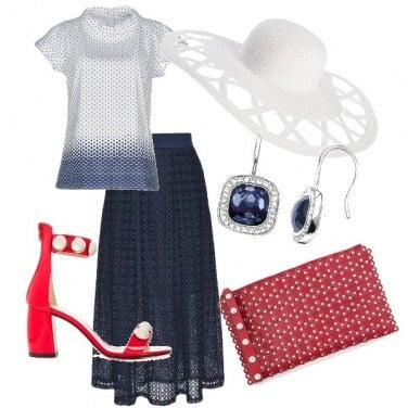Outfit Fashionista bicolore