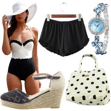 Outfit Al mare spendendo poco