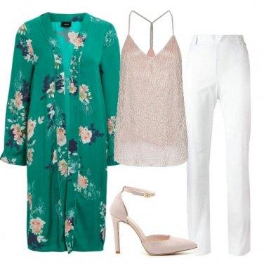 Outfit Cerimonia col kimono
