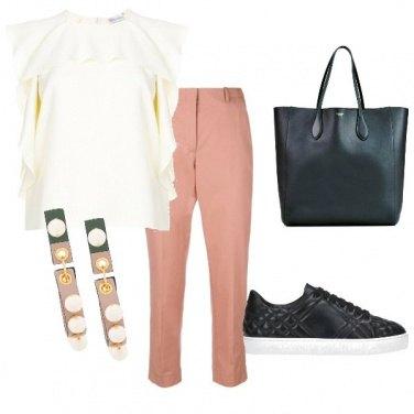 Outfit Eleganti incroci