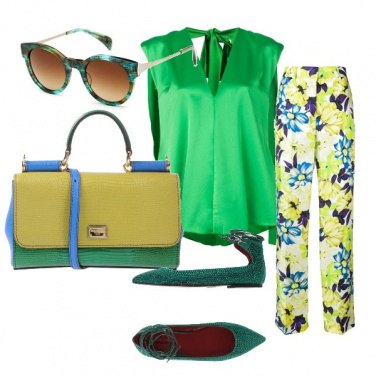 Outfit Green glam