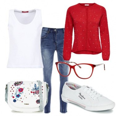 Outfit Red and Love