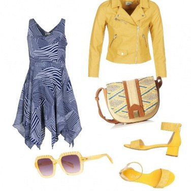 Outfit Giallo rock