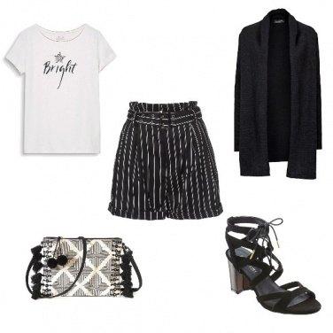 Outfit Il chiaroscuro e la semplicità