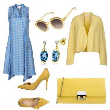 Outfit Pois gialli