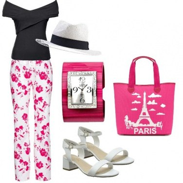 Outfit It\'s time to... Paris in flowers!!!!