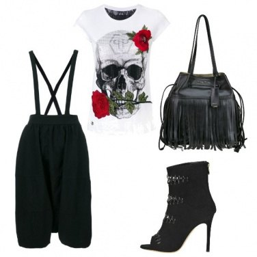 Outfit Stile rock