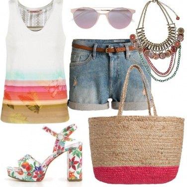 Outfit Colore al mare