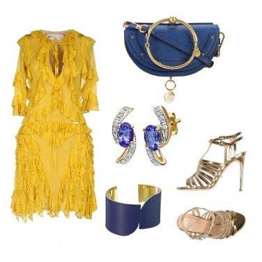 Outfit Accessori blu!