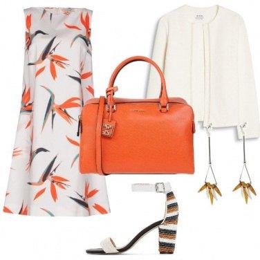Outfit Arancione chic
