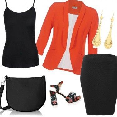 Outfit Tocco d\'arancio