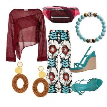 Outfit CMPS Il turchese, che bel colore