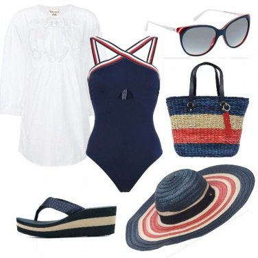 Outfit In spiaggia con Tommy