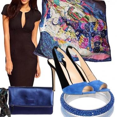 Outfit L\'arte nel blu