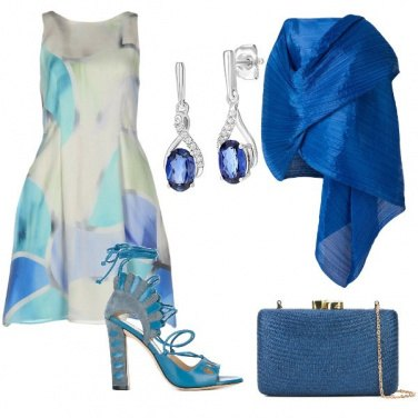 Outfit Sfumature di blue