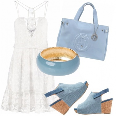 Outfit L\' abito bianco